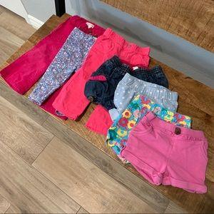 Girls Shorts and Pants 12M bundle
